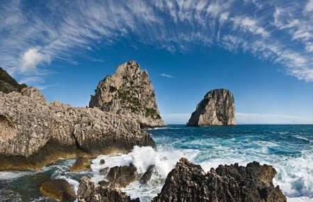 Faraglioni, Capri, Italy Stock Photo - 3837130