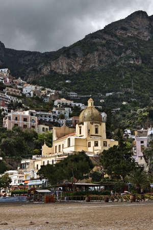 positano: Santa Caterina Church, Positano, Italy