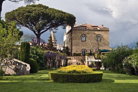 buiding: Villa Cimbrone gardens, Ravello, Italy