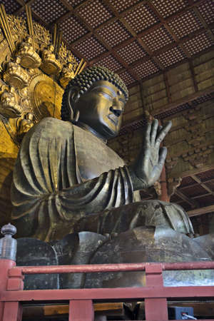 Buddha Vairocana (Daibutsu) at Todai-ji, Eastern Great Temple, Nara, Japan