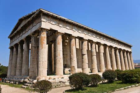 Hephaisteion, Temple of Hephaestus, Ancient Agora of Athens, Greece