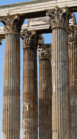 olympian: Columns of the Olympieion, Temple of Olympian Zeus, Athens, Greece
