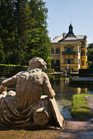 salzburg: Hellbrunn Palace gardens, Salzburg, Austria