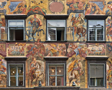 Windows in Graz, Styria, Austria