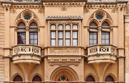 Windows in Mdina, Malta