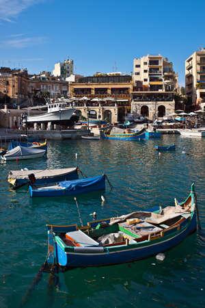 Spinola bay, St Julians, Malta