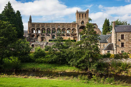 abbey: Jedburgh Abbey, Scottish Borders