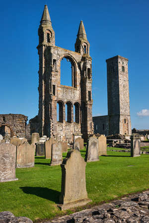 andrews: St Andrews Cathedral ruins