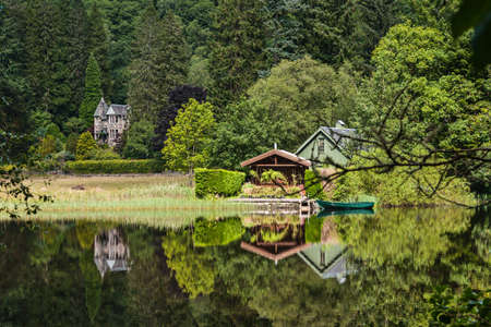 Loch Ard lakeside, Scotland Stock Photo - 15745282