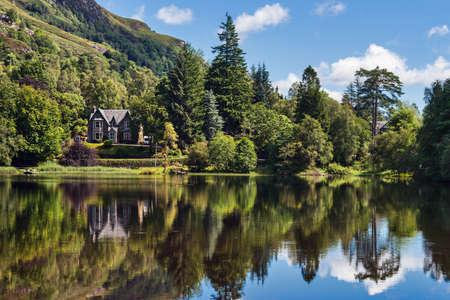 Loch Ard lakeside, Scotland Stock Photo - 15745280