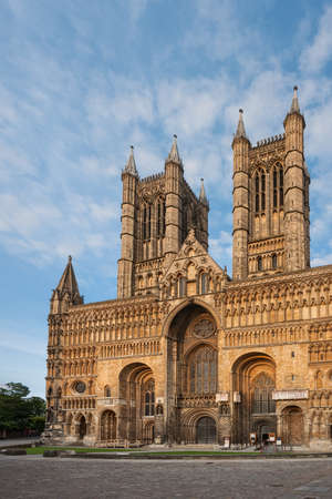 The Cathedral Church of the Blessed Virgin Mary of Lincoln, Lincolnshire, England Stock Photo