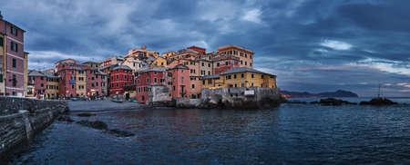 Boccadasse - an old mariners  neighbourhood of the Italian city of Genoa