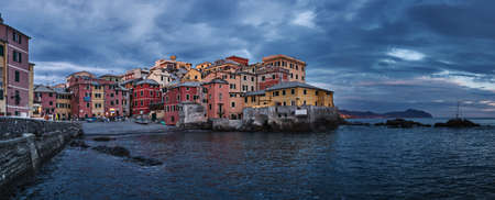 Boccadasse - an old mariners  neighbourhood of the Italian city of Genoa