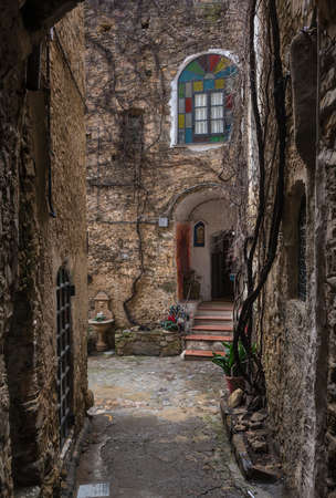 Bussana Vecchia  Old Bussana , a medieval ghost town in Liguria, near Sanremo, Italy, Now is the International Artists Village