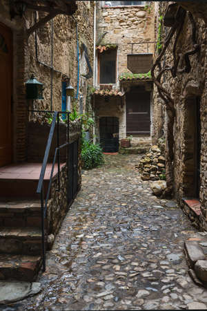 sanremo: Bussana Vecchia  Old Bussana , a medieval ghost town in Liguria, near Sanremo, Italy, Now is the International Artists Village