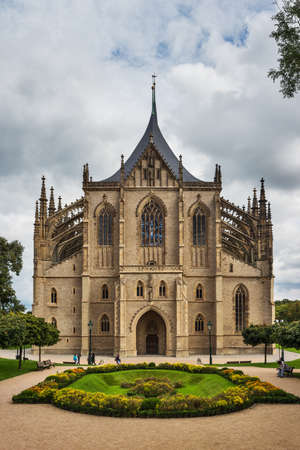 Saint Barbara s Church, Kutna Hora, Bohemia, Czech Republic