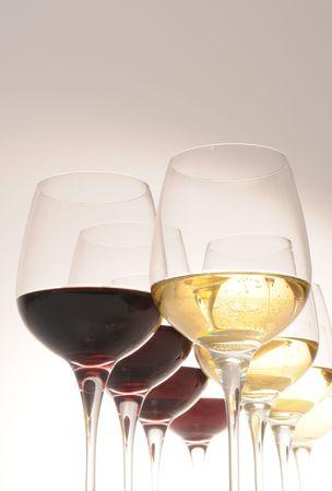 Wine glasses. photo