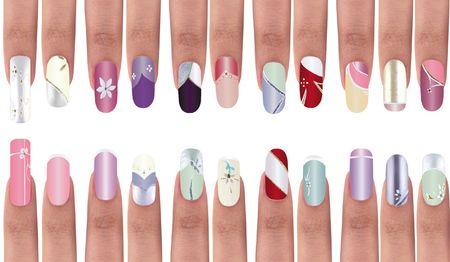 Nail Polish. Series, see more.. Stock Photo - 4305657
