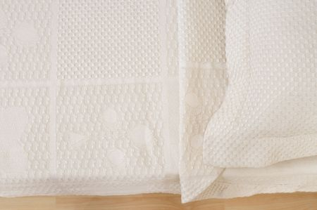 Textured bed cover. Stock Photo - 4310292