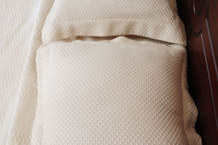 Textured bed cover. Stock Photo - 4310299
