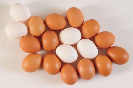 Huevos. Concepto de competencia.  Foto de archivo - 4310346