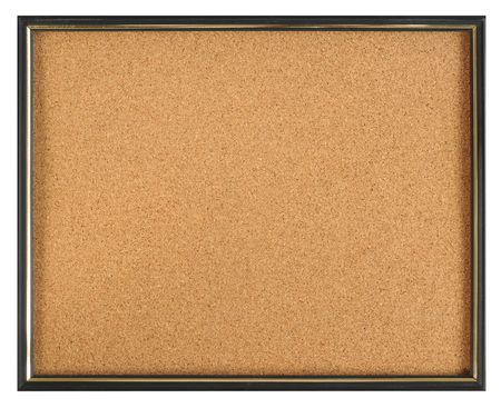 Cork board. See more... Stock Photo - 4310578