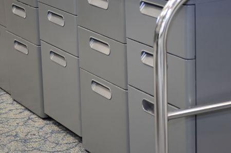 File cabinet. Series... photo