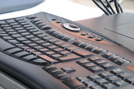 Extended keyboard. photo