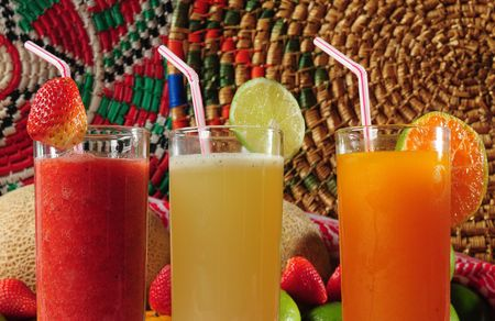 Tropical Juice. Stock Photo - 4474157