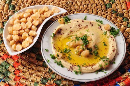 food staple: Hummus.