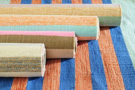 selections: Handmade rugs.