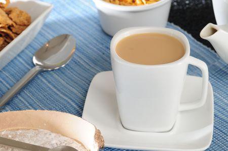 Coffee and milk. photo
