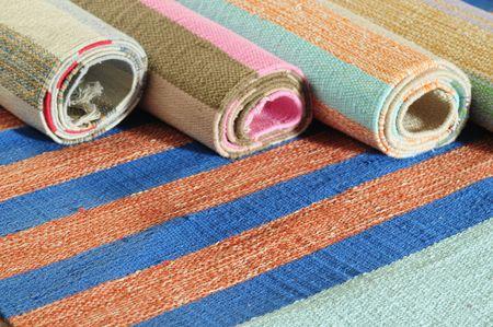 Handmade carpets. photo