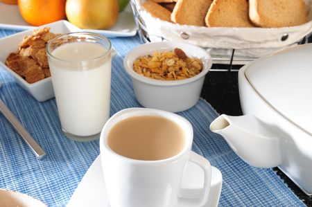 South american breakfast. photo