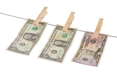 Money laundry. photo