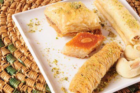 Arabic sweets. photo