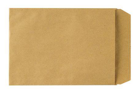 Manilla envelope. path.