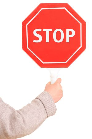 Stop sign. Stock Photo - 4840496