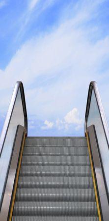 Escalator to sky. photo