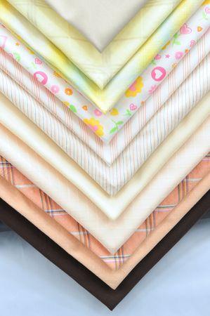 overlapped: Overlapped textile.