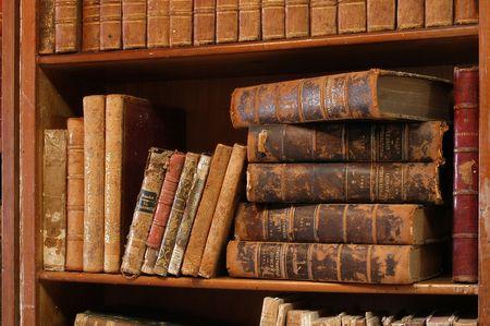 shelve: Old books