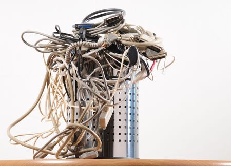 recycle waste: Reciclado de cables