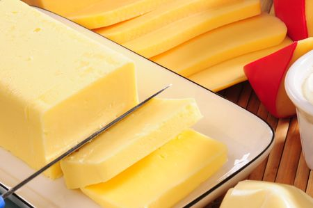swiss knife: Cheese and butter