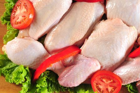 Raw chicken. Stock Photo - 5382134