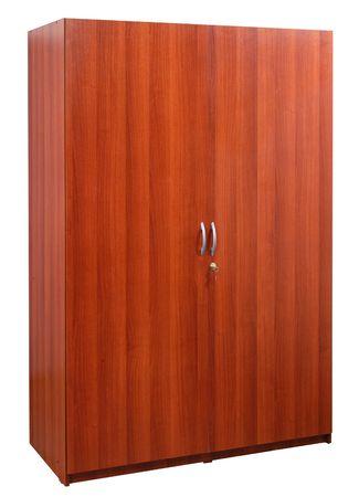 Laminated closet.                    Stock Photo - 5425596