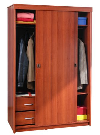 Open cabinet Stock Photo - 5432432