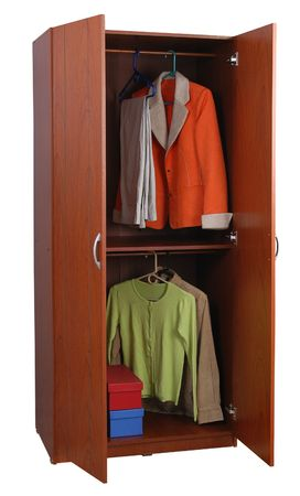Open cabinet Stock Photo - 5432422