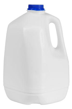 Milk container.