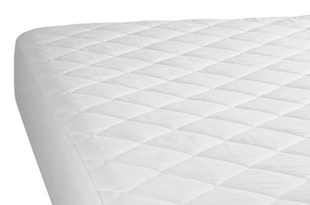 Mattress cover. Isolated. photo