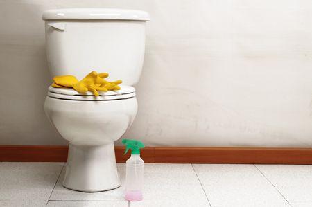 public restroom: Housekeeping.